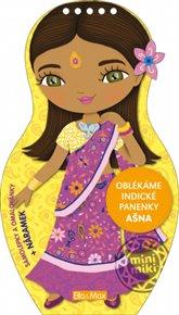Oblékáme indické panenky - Ašna