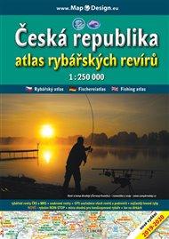 Česká republika - atlas rybářských revírů, 1:250.000