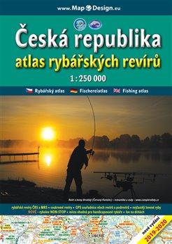 Obálka titulu Česká republika - atlas rybářských revírů, 1:250.000
