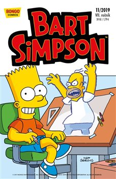 Obálka titulu Bart Simpson 11/2019