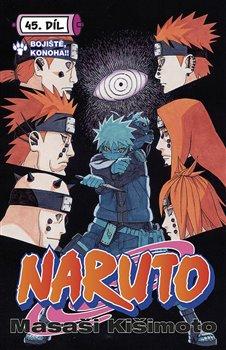 Obálka titulu Naruto 45: Bitevní pole Konoha