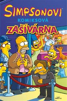 Obálka titulu Simpsonovi: Komiksová zašívárna