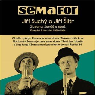 CD SEMAFOR KOMPLET 9 HER Z LET 1959-1964