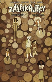 Obálka titulu Záleskautky – Lumberjanes 4