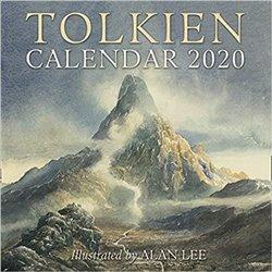Obálka titulu Tolkien calendar 2020