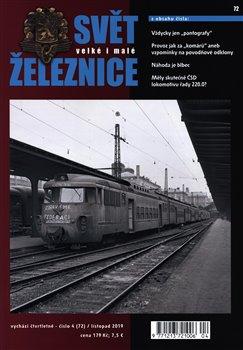 Obálka titulu Svět železnice 72 / listopad 2019