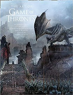 Obálka titulu Art of Game of Thrones, The Official Book of Design from Season 1 to Season 8