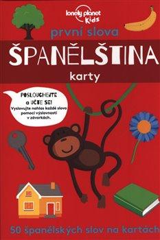 Obálka titulu První slova Španělština - karty