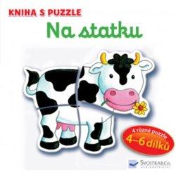 Obálka titulu Na statku - Kniha s puzzle