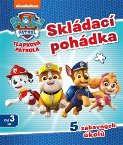 Obálka titulu Tlapková patrola - Skládací pohádka