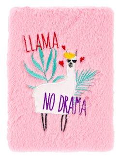 Obálka titulu Notes plyšový Lama