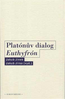 Obálka titulu Platónův dialog Euthyfrón