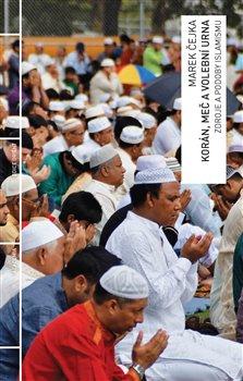 Obálka titulu Korán, meč a volební urna