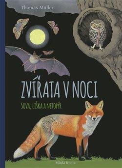 Obálka titulu Zvířata v noci