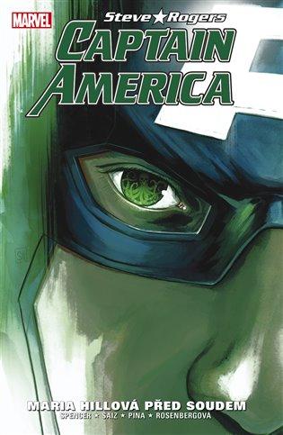 Captain America: Steve Rogers 2: Maria Hillová před soudem - Jesus Saiz, | Booksquad.ink