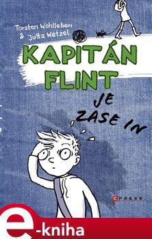 Obálka titulu Kapitán Flint je zase in