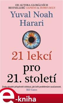 Obálka titulu 21 lekcí pro 21. století