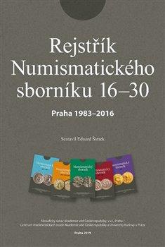 Obálka titulu Rejstřík Numismatického sborníku 16 – 30