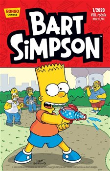 Obálka titulu Bart Simpson 1/2020