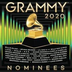 Obálka titulu Grammy Nominees 2020