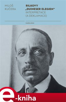 "Obálka titulu Rilkovy ""Duineser Elegien""- Interpretace (a deklamace)"
