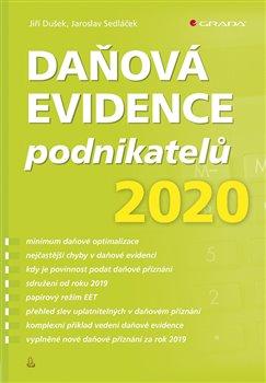 Obálka titulu Daňová evidence podnikatelů 2020
