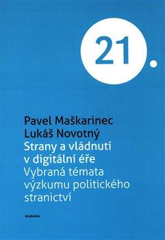 Obálka titulu Strany a vládnutí v digitální éře