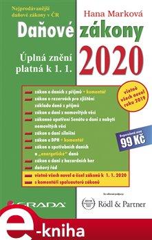 Obálka titulu Daňové zákony 2020