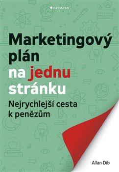 Obálka titulu Marketingový plán na jednu stránku