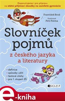 Obálka titulu Slovníček pojmů z českého jazyka a literatury