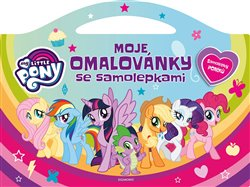 Obálka titulu My Little Pony - Moje omalovánky se samolepkami