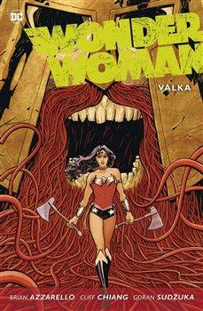 Obálka titulu Wonder Woman 4: Válka