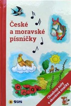 Obálka titulu České a moravské písničky