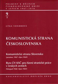Obálka titulu Komunistická strana Československa