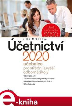 Obálka titulu Účetnictví 2020, učebnice pro SŠ a VOŠ