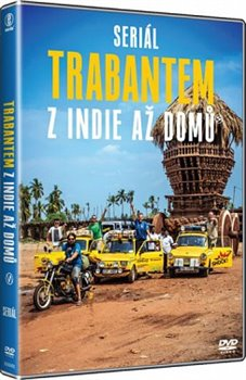 Obálka titulu Trabantem z Indie až domů (2DVD, 14 dílů)