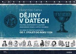 Obálka titulu Dějiny v datech od 7. století do roku 1526