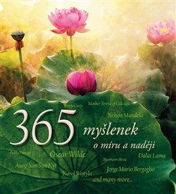 Obálka titulu 365 myšlenek o míru a naději