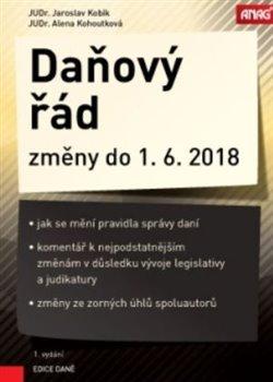 Daňový řád a jeho změny do 1. 6. 2018