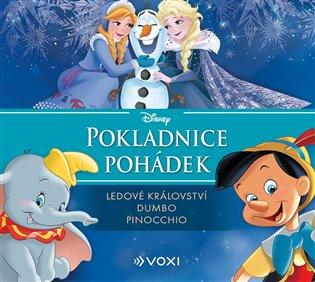 Disney - Ledové království, Dumbo, Pinocchio