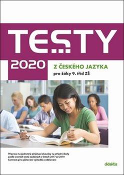 Obálka titulu Testy 2020 z českého jazyka pro žáky 9. tříd ZŠ