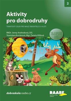 Obálka titulu Aktivity pro dobrodruhy - Tajuplný les