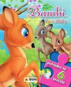 Pohádkové čtení s puzzle - Bambi čti a skládej