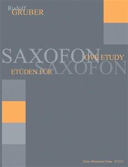 Obálka titulu Saxofonové etudy