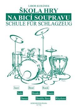 Obálka titulu Škola hry na bicí soupravu