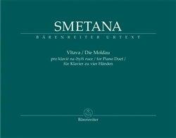 Obálka titulu Vltava pro klavír na čtyři ruce - symfonická báseň z cyklu Má vlast