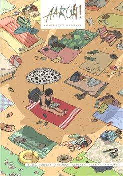 Obálka titulu Aargh! 19 (obálka na pláži)