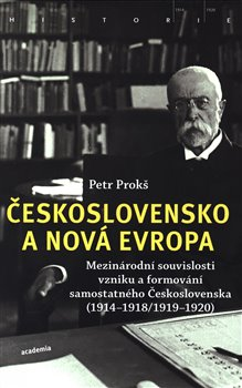Obálka titulu Československo a nová Evropa