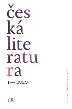 Obálka titulu Česká literatura 1/2020