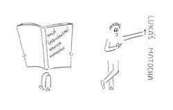 Obálka titulu Malá šarmantní kniha humoru
